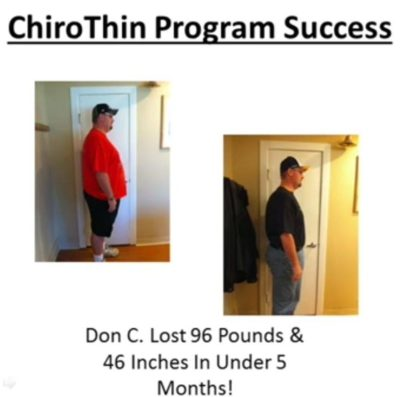 Chiropractic Norwood MA ChiroThin Program Success Story